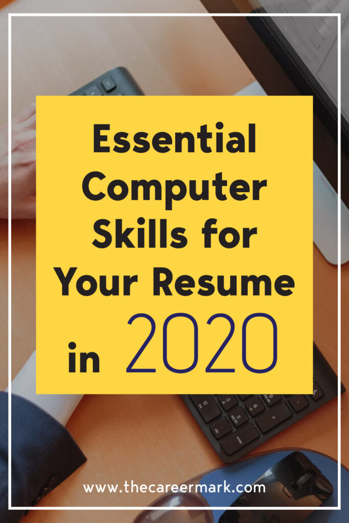 Essential Computer Skills for Your Resume in 2020