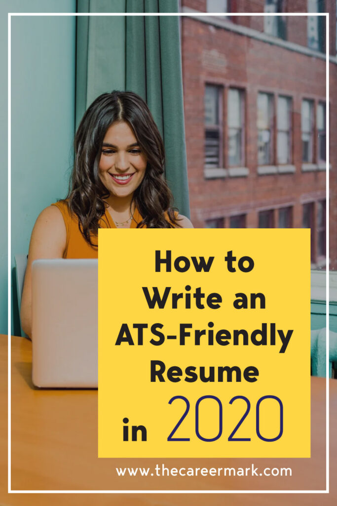 Writing an ATS-Friendly Resume in 2020