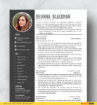 Modern Resume Template for Word (FREE Download)